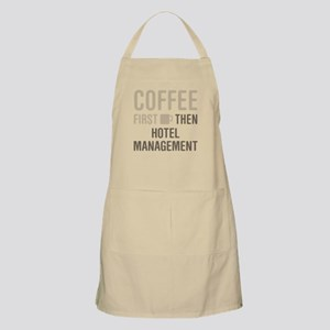 Coffee Then Hotel Management Apron