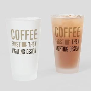 Coffee Then Lighting Design Drinking Glass