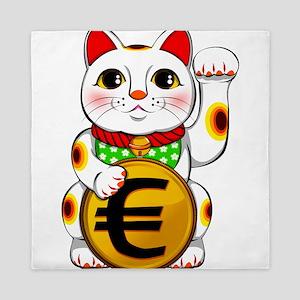 Euro Lucky Cat Maneki Neko Queen Duvet