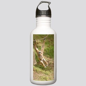 White Handed Gibbon Stainless Water Bottle 1.0L