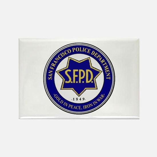 San Francisco Police Magnets