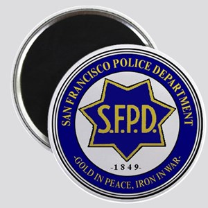 San Francisco Police Magnets