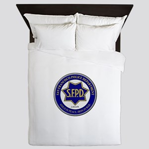 San Francisco Police Queen Duvet