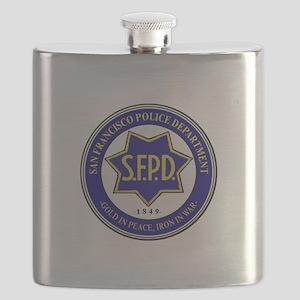 San Francisco Police Flask