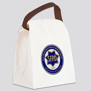 San Francisco Police Canvas Lunch Bag