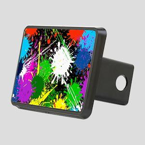 Paint Splatter Rectangular Hitch Cover