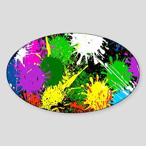 Paint Splatter Sticker