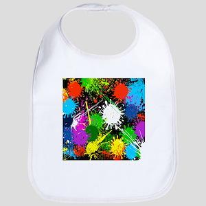 Paint Splatter Bib