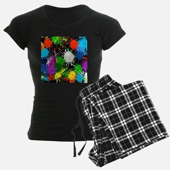 Paint Splatter pajamas