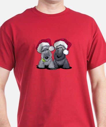 Christmas Cesky Terriers T-Shirt
