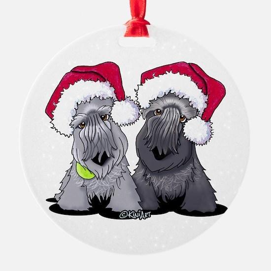 Christmas Cesky Terriers Ornament