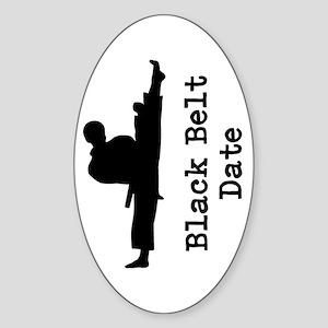 Black Belt Sticker