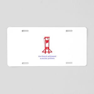 revolution 8 Aluminum License Plate