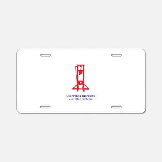 revolution 8.png Aluminum License Plate