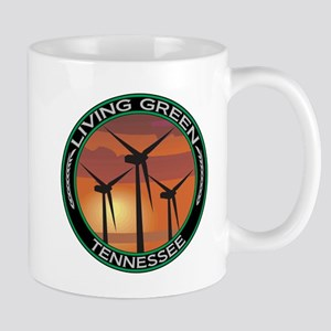Living Green Tennessee Wind Power Mug