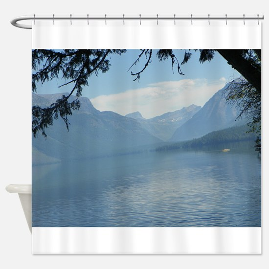 Lake Macdonald Shower Curtain