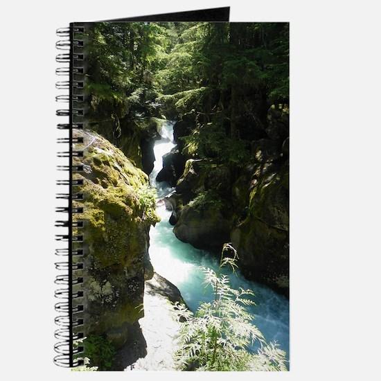 Glacier Waterfall Journal