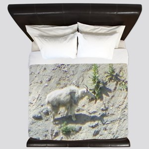 Mountain Goat King Duvet
