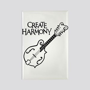MANDOLIN HARMONY Rectangle Magnet