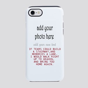 In memory of Personalize iPhone 8/7 Tough Case