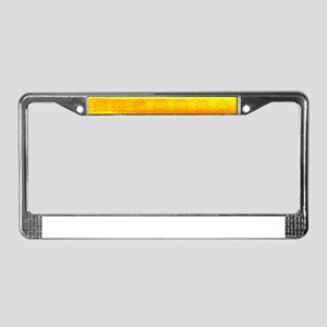 The World Is Yours License Plate Frame