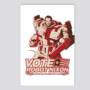 robot nixon Postcards (Package of 8)