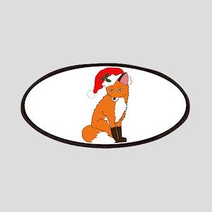 Foxy Santa Patch