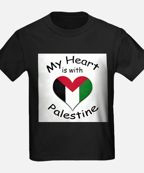 My Heart is With Palestine T