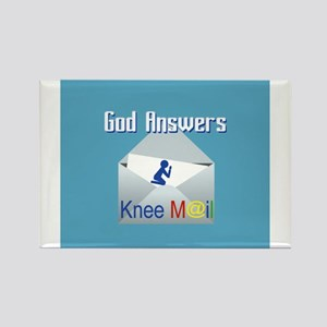 God Answers Knee Mail s Magnets
