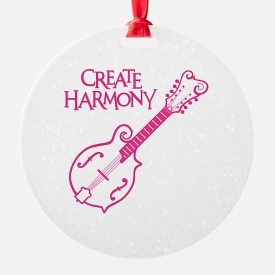 MANDOLIN HARMONY Ornament