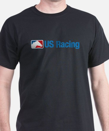 US Racing - No Slogan, Light Background T-Shirt