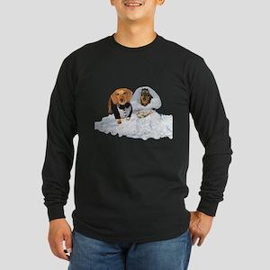 Wedding Dachshunds Dogs Long Sleeve Dark T-Shirt