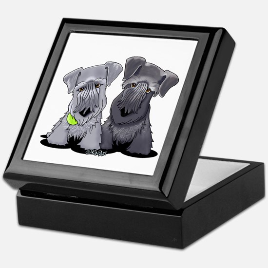 KiniArt Cesky Terriers Keepsake Box