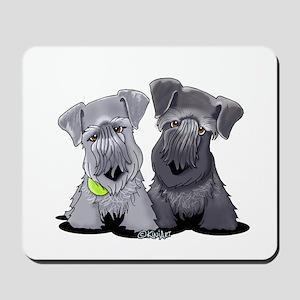 KiniArt Cesky Terriers Mousepad