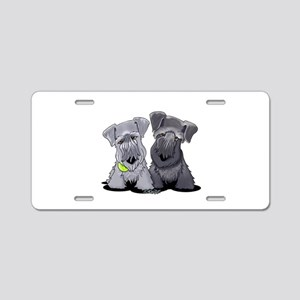 KiniArt Cesky Terriers Aluminum License Plate