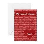 My Favorite Things Valentines Cards (Pk of 10)