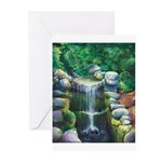 Lithia Waterfall Greeting Cards
