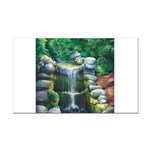 Lithia Waterfall Rectangle Car Magnet