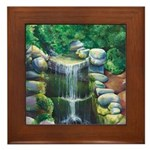 Lithia Waterfall Framed Tile