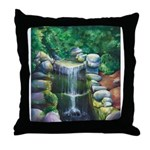 Lithia Waterfall Throw Pillow