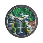 Lithia Waterfall Wall Clock