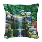 Lithia Waterfall Woven Throw Pillow