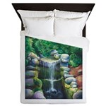 Lithia Waterfall Queen Duvet