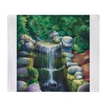 Lithia Waterfall Throw Blanket
