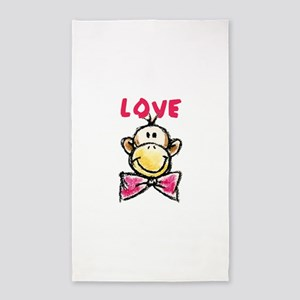 Love Monkey Area Rug