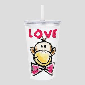 Love Monkey Acrylic Double-wall Tumbler