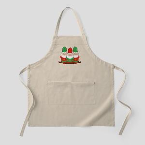 Christmas Gnomes Apron
