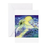 Dolphins Dance Greeting Cards