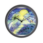 Dolphins Dance Wall Clock