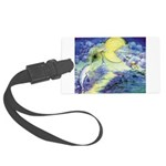 Dolphins Dance Luggage Tag